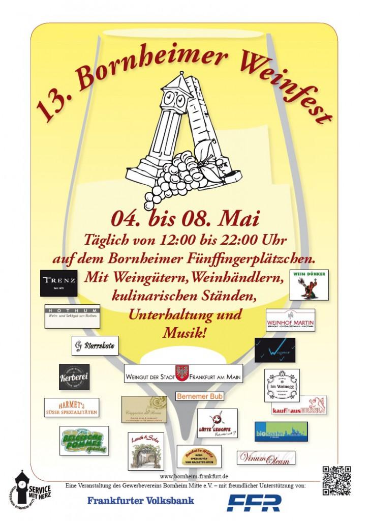 13. Bornheimer Weinfest_Plakat